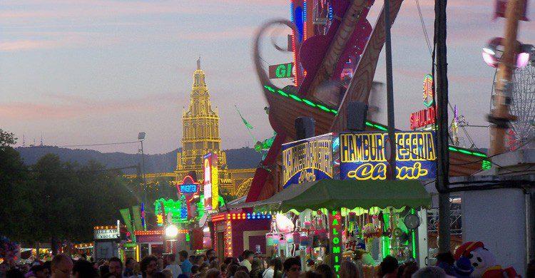 Las tardes de la Feria de Córdoba son para comer, beber y conciertos (Fuente: Eladio Osuna / Flickr)