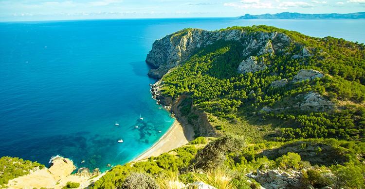 Vistas de Coll Baix, Mallorca