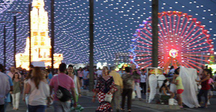La ruta de caseta en caseta, un imprescindible en la Feria de Córdoba (Fuente: Agnes Gautier / Flickr)