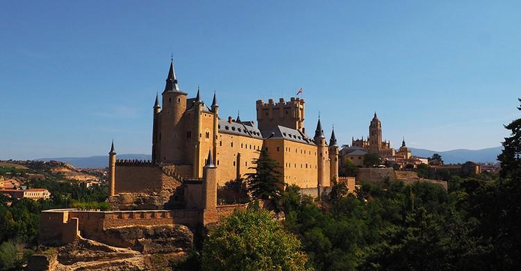 Vistas de Alcázar de Segovia