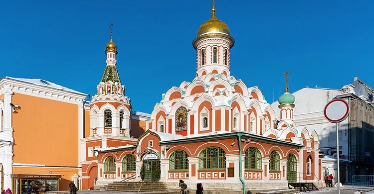 Catedral de Nuestra Señora de Kazán en Moscú