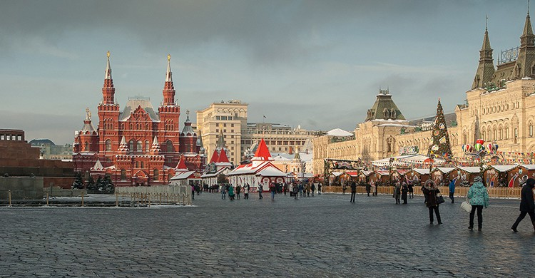 La Plaza Roja de Moscú