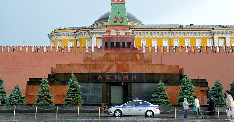 Mausoleo a Lenin en Moscú