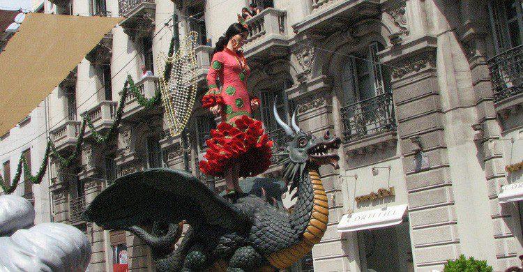 ¿Quién dijo que no había Juego de Tronos en la Feria de Granada?