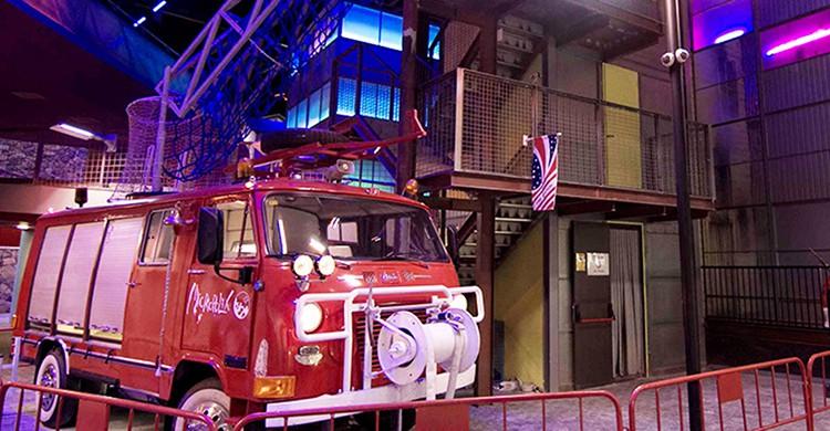 Torre de los bomberos en Micrópolix
