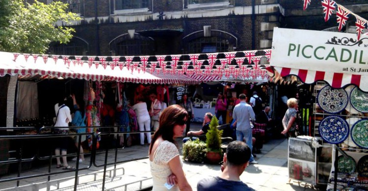 Mercado de Piccadilly en Londres