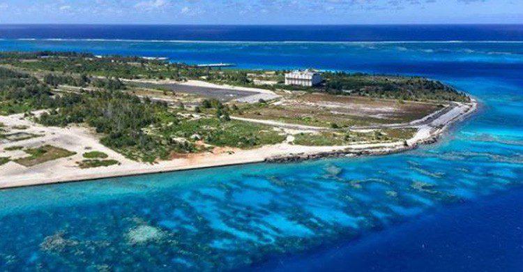 Aeropuerto de Johnston Atoll en Estados Unidos (Fuente: @jdr727 en Instagram)
