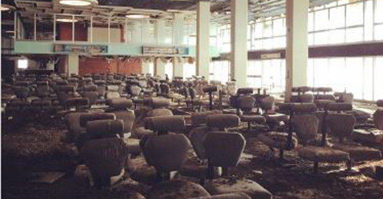 Aeropuerto Internacional de Nicosia en Chipre (Fuente: @mdknighted en Instagram)