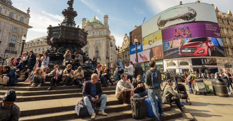 Picadilly Circus en Londres