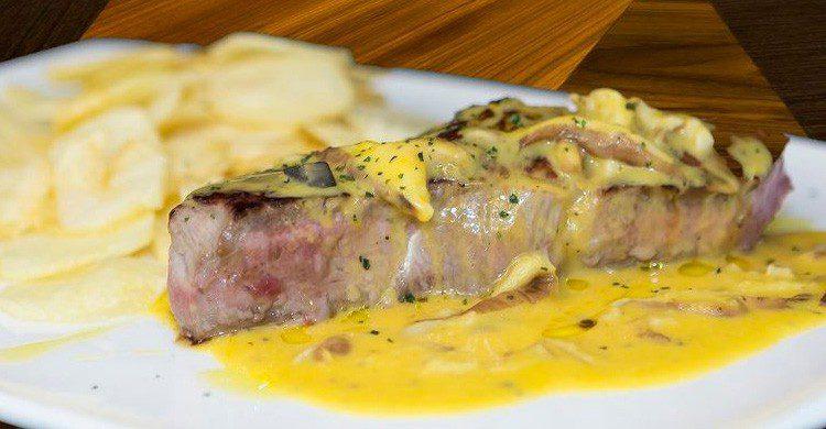Todos los platos del Restaurante Terra Nosa de Santiago de Compostela está espectaculares (Fuente: restaruanteterranosa.com)