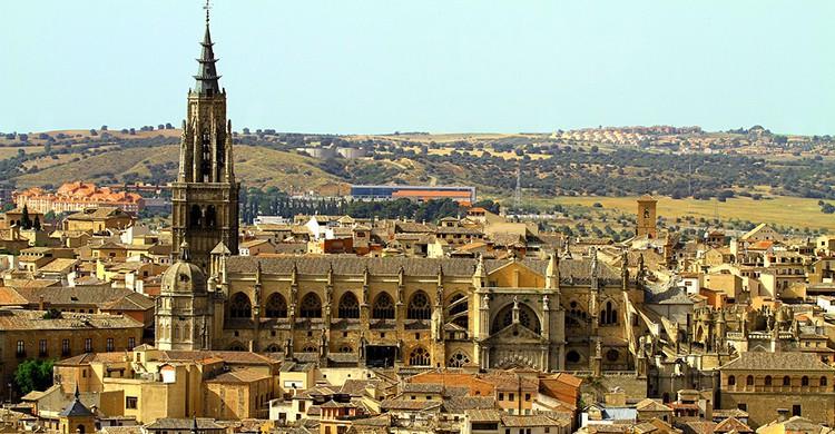 Vistas de la catedral de Toledo