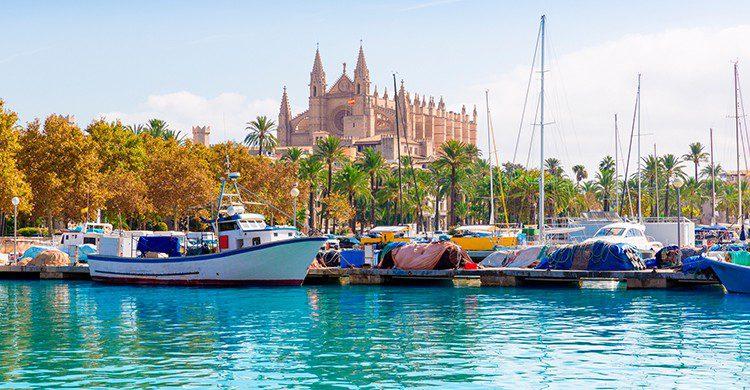 Palma de Mallorca es uno de los destinos preferidos para viajar en julio (iStock)