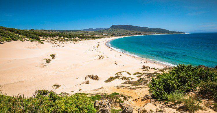 Playa de Bolonia en Tarifa, Cádiz (Fuente: iStock)