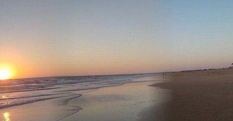 Playa de Camposoto en San Fernando, Cádiz (Fuente: Manuela Ruiz / Flickr)
