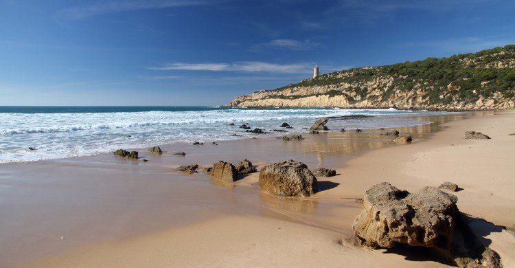 Playa de El Cañuelo en Tarifa, Cádiz (Fuente: iStock)