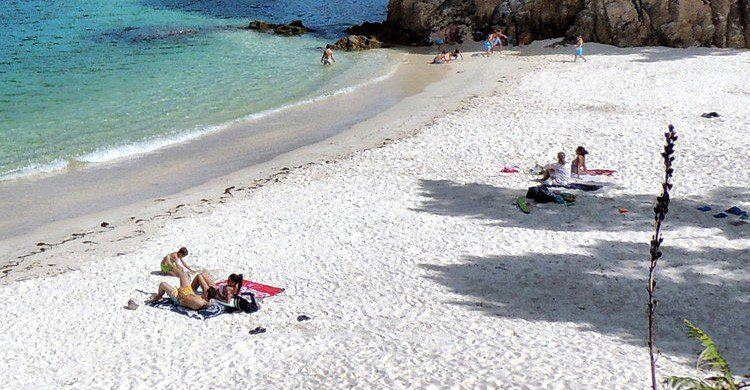Playa de Caolín en Galicia (Fuente: Jose Luis Cernadas / Flickr)