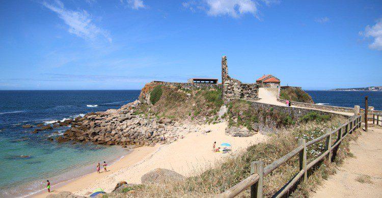 Playa de Barra en Pontevedra, Galicia (Fuente: iStock)