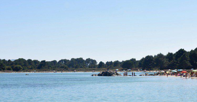Playa de Carreirón en Pontevedra, Galicia (Fuente: iStock)