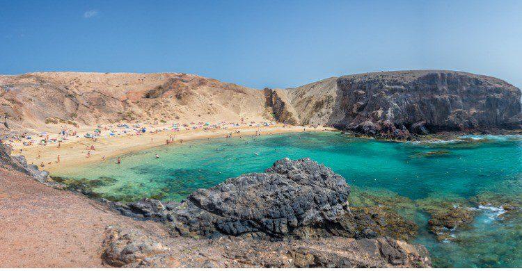 Playa Blanca en Lanzarote (Fuente: iStock)