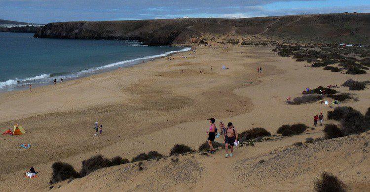 Playa de Mujeres en Lanzarote (Fuente: ganmed64 / Flickr)