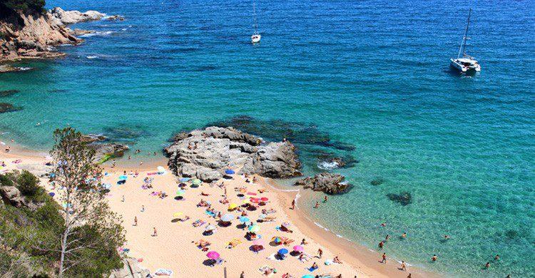 La Playa SaBoadella en la Costa Brava (Fuente: iStock)