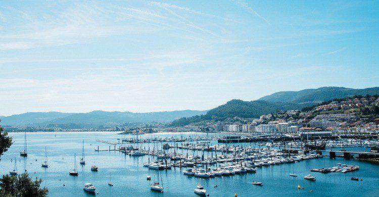 Vistas del pueblo de Baiona, Pontevedra (Fuente: iStock)