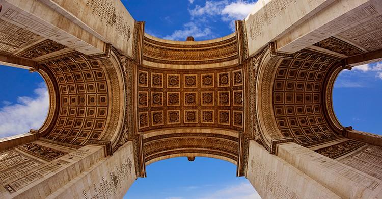 curiosidades del arco del triunfo