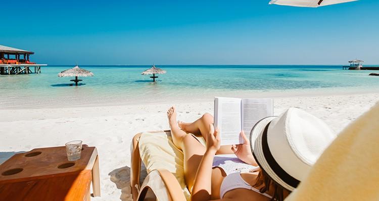 reservar sitio en la playa