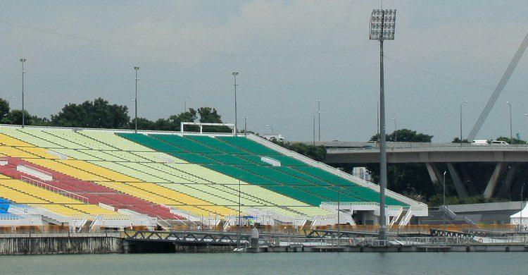 Estadio de Marina Bay en Singapur (Fuente: Albert Freeman /Flickr)