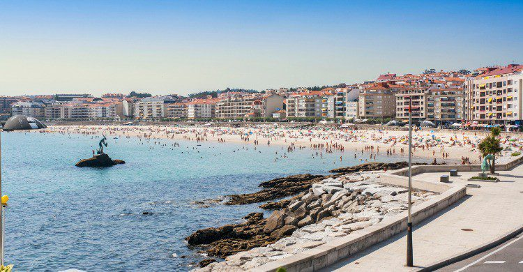 Vistas del litoral de Sanxenxo, Pontevedra (Fuente: iStock)