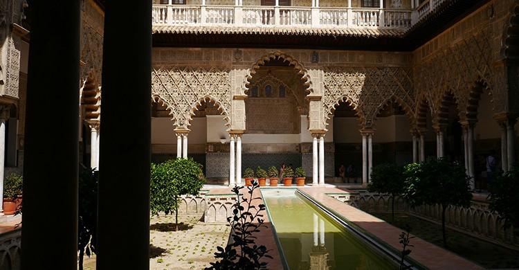 Otro monumento imprescindible el Alcázar de Sevilla (Pixabay)