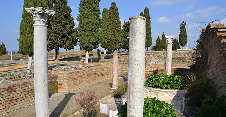 Conjunto arqueológico Itálica (Wikimedia Commons)