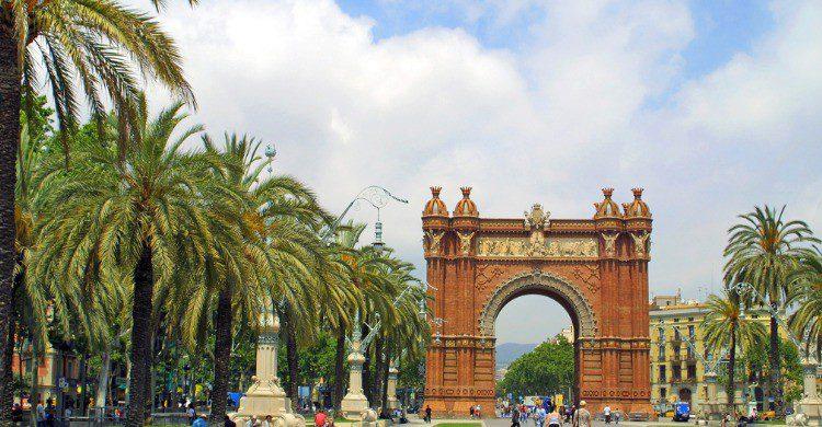 El Arco de Triunfo de Barcelona (Fuente: iStock)