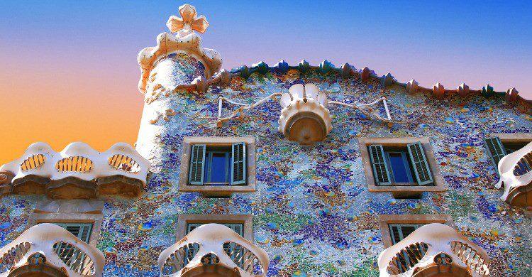La Casa Batlló en Barcelona (Fuente: iStock)