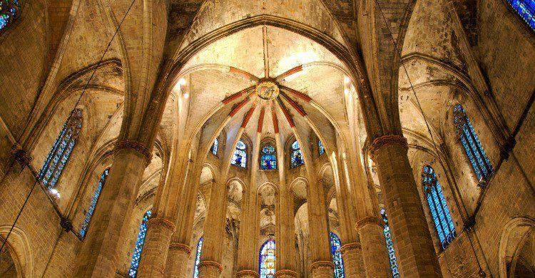 La Basílica de Santa María del Barcelona (Fuente: iStock)