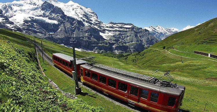 Los ferrocarriles de montaña (Istock)