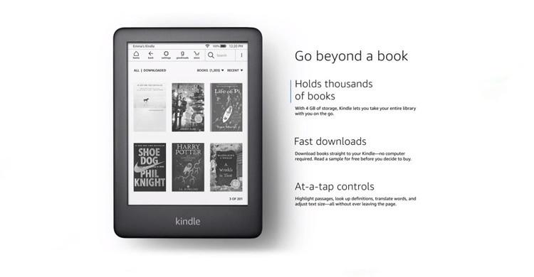 Ebook Kindle (Aliexpress)