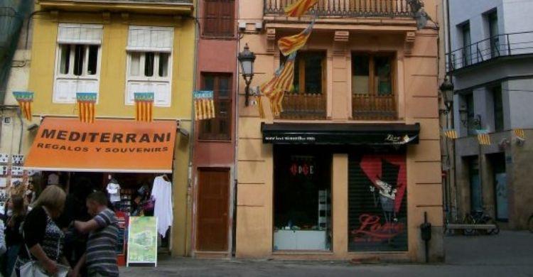 La casa más estrecha de Valencia (Facebook)