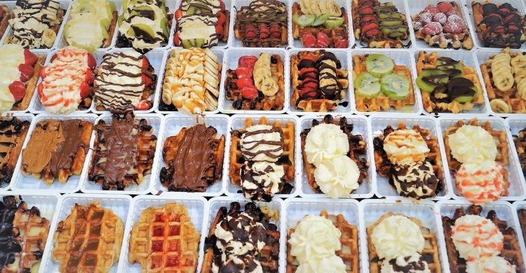 ¿Te encantan los gofres? ¡Entonces Bruselas es tu paraíso! (iStock)